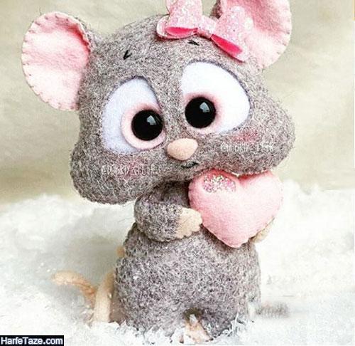 مدل موش نمدی زیبا نماد سال 99