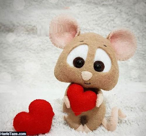 عروسک موش نمدی برای نوروز ۹۹