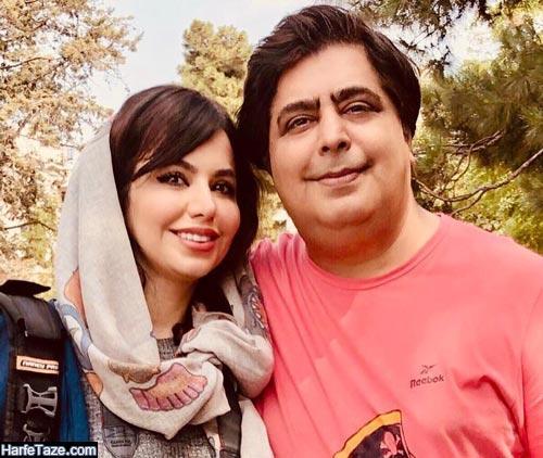 رضا شفیعی جم و خواهرش