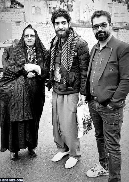 عکس مادر و خانواده سجاد رضایی شرکت کننده عصر جدید