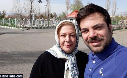سالار کریمخانی و مادرش