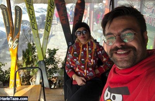 عکسهای جدید سالار کریمخانی و همسرش 99