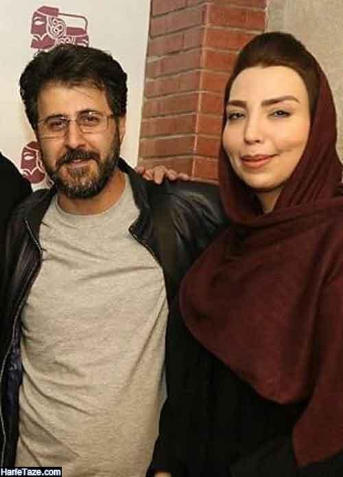 اینستاگرام سلیمه قطبی همسر هومن حاجی عبداللهی بازیگر