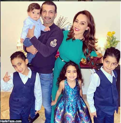 همسر و فرزندان شالی زمردی مجری ایرانی الاصل فاکس نیوز