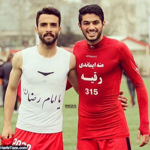 زندگینامه شایان مصلح فوتبالیست و مداح
