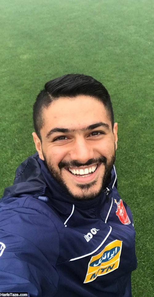 زندگی شخصی شایان مصلح بازیکن سابق پرسپولیس