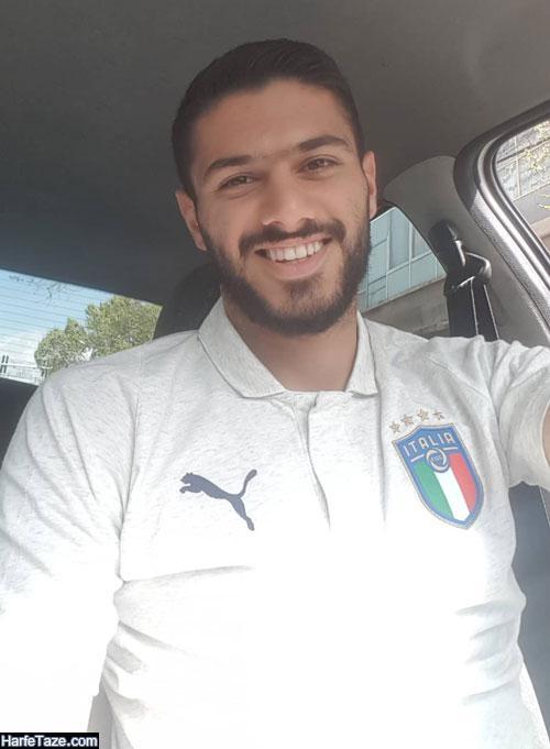 حواشی شایان مصلح فوتبالیست