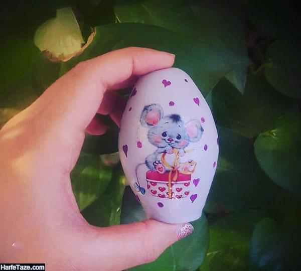 مدل تخم مرغ موش ویژه هفت سین 99