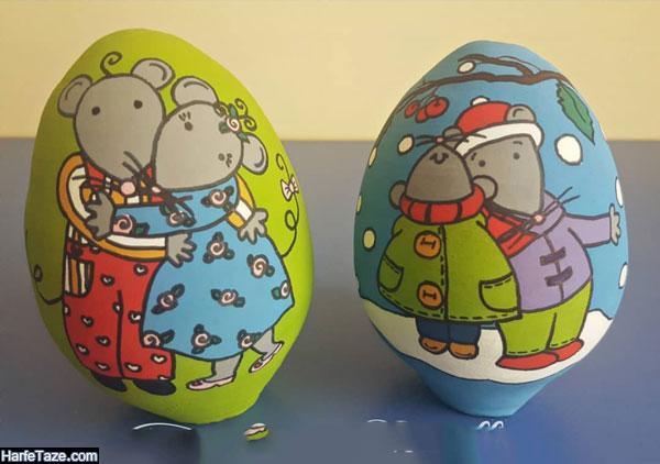 مدلهای تخم مرغ موش برای هفت سین 99