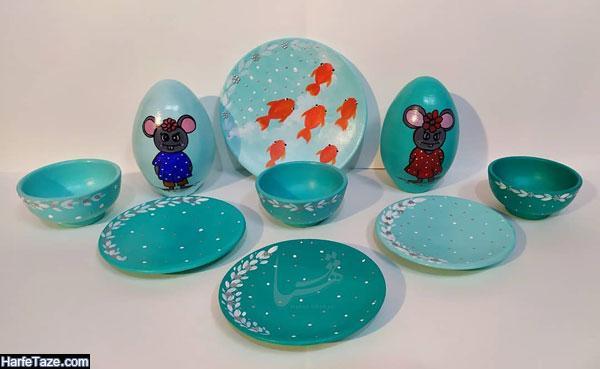 مدل تخم مرغ به شکل موش موش 99