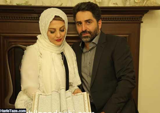 عکس های ازدواج همسر مجری محسن رجبی