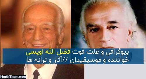 بیوگرافی و علت فوت فضل الله اویسی پیشکسوت موسیقی و همسرش + افتخارات