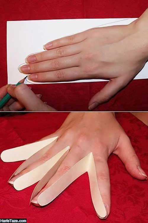 آموزش دوخت دستکش پارچه ای
