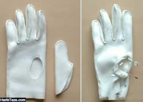 روش دوخت دستکش نخی در خانه