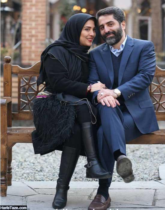 عکس های جدید مجری تلویزیون و همسرش