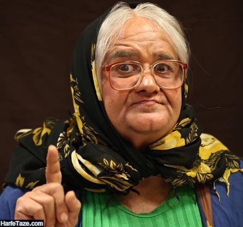 اکبر عبدی در نقش زن
