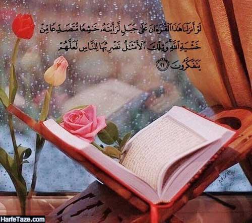 گل رز و قرآن