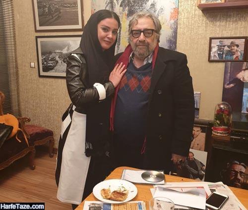 آتنا مهیاری و مسعود کمیایی