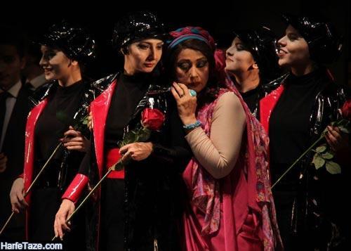 بهار نوحیان در نمایش تئاتر