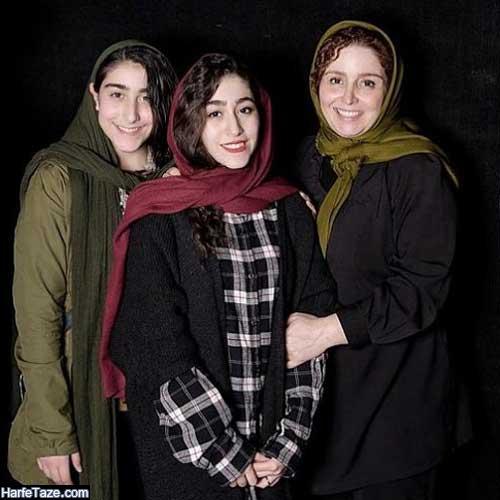 عکس نیاز و یاس دختران ایرج سنجری