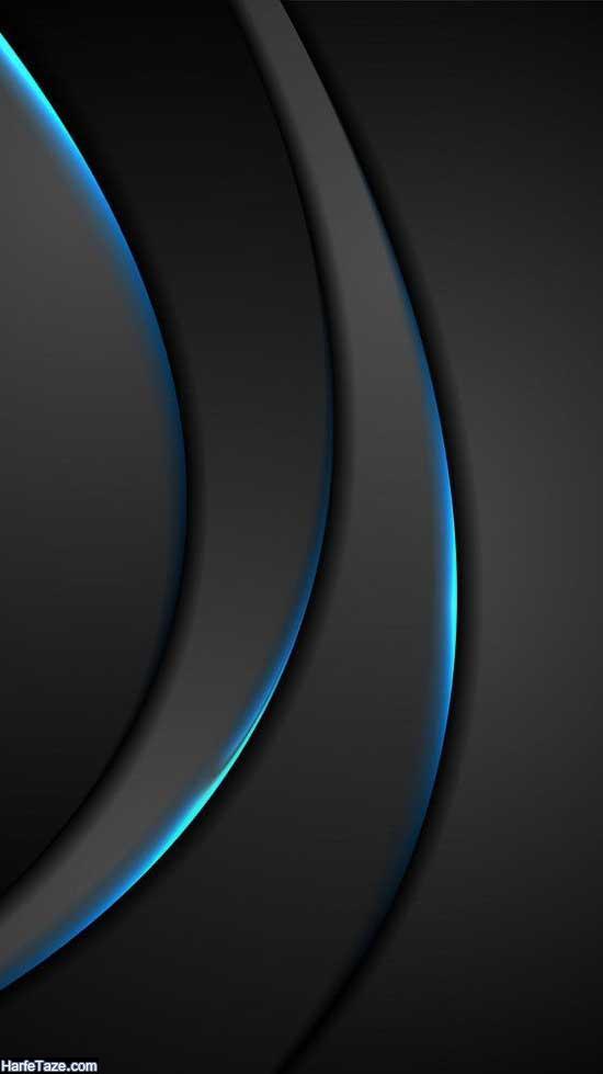 والپیپر مشکی ساده و طرحدار برای بک گراند و پس زمینه با کیفیت HD
