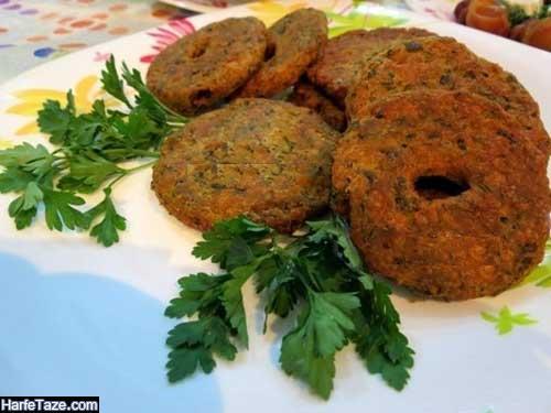 انواع شامی و کتلت برای افطار