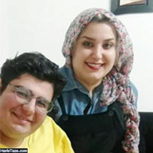 احسان مهدی و همسرش سیمین براتی