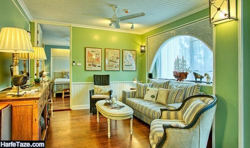 مدل دکوراسیون خانه سبز 99