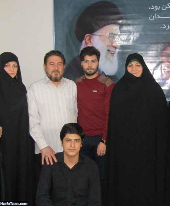 همسر و فرزندان سردار حاج میرزا محمد سلگی