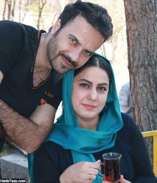عکس های مهسا مهجور و همسرش