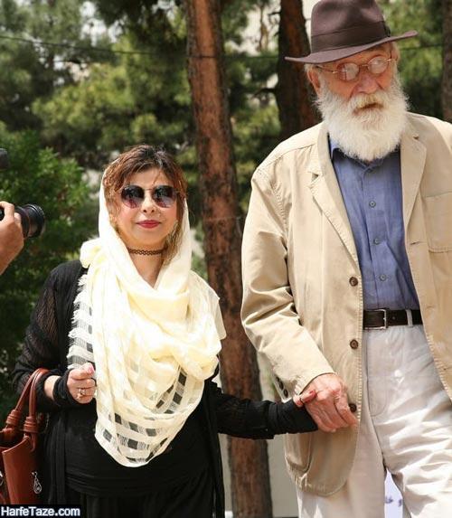 جمال اجلالی و همسرش سعیده خلیلی