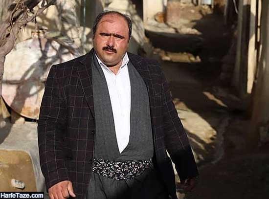 بیوگرافی و عکسهای جدید کاظم نوربخش خواستگار شیرین در نون خ ۲