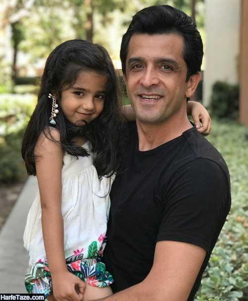 عکس جدید آریسا دختر مهشید حبیبی و مجید یاسر