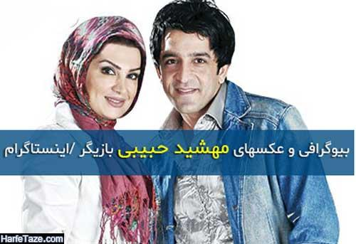 بیوگرافی و عکسهای مهشید حبیبی بازیگر و همسر مجید یاسر + زندگی شخصی