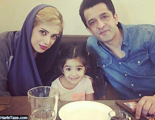 مجید یاسر و همسرش و دخترش
