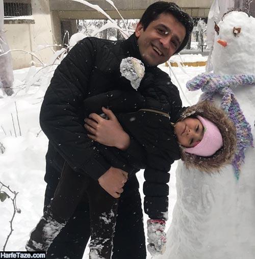 عکس جدید مجید یاسر و همسرش 99