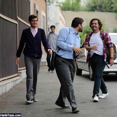بیوگرافی مسعود تابش در بچه مهندس