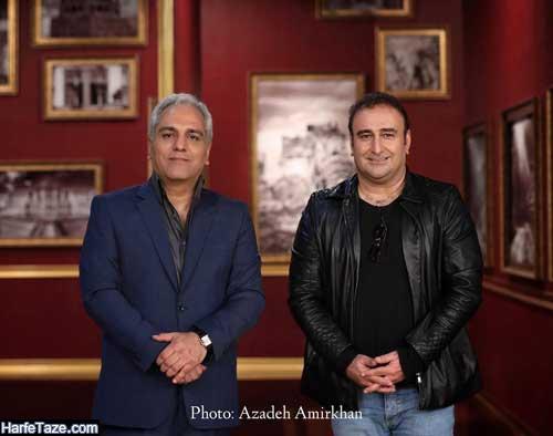 مهران احمدی مهمان دورهمی امشب جمعه 5 ادریبهشت 99