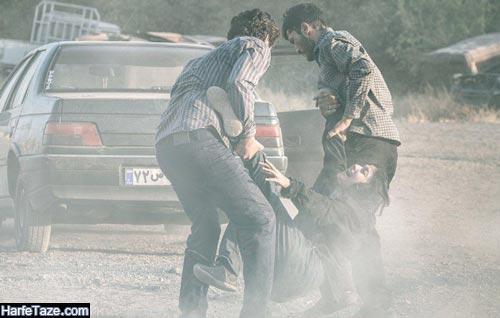 بازیگران فیلم مردن در اب مطهر