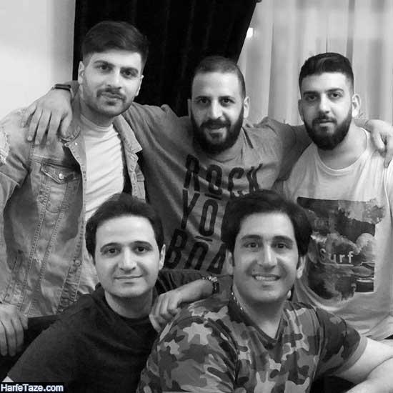 عکس سعید شیخ زاده و برادرانش نوید و وحید و شایان