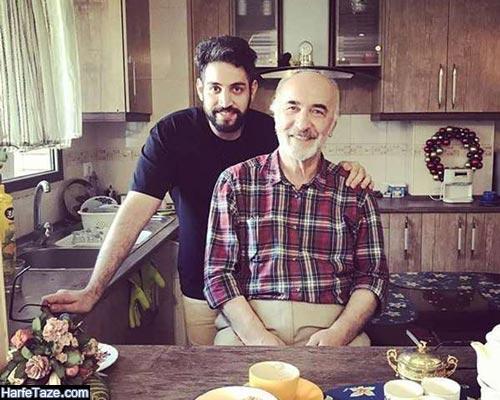 سعید نیک پور و پسرش