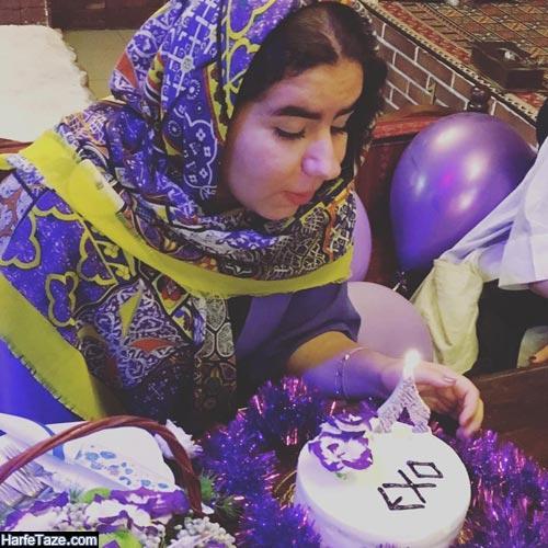 جشن تولد صهبا شرافتی