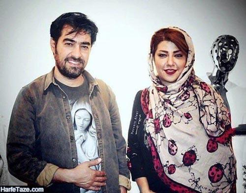 شهاب حسینی و همسرش 99