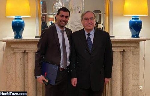شهاب حسینی برنده شوالیه کشور فرانسه