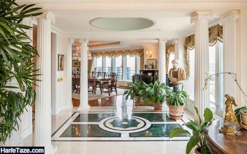 طراحی ستون گچی خانه