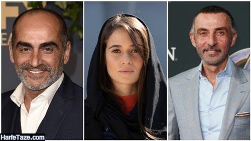 اسامی بازیگران سریال تهران