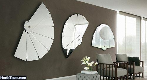 قانون ششم طراحی دکوراسیون : آینه کاری قسمت های مختلف منزل