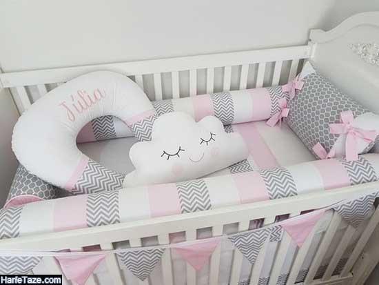 مدل جدید سرویس خواب نوزاد دختر