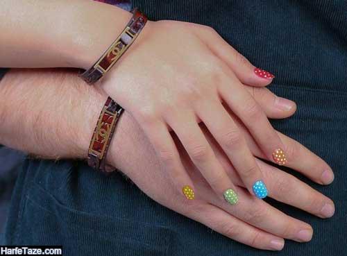 ست دستبندهای چرمی دختر و پسر