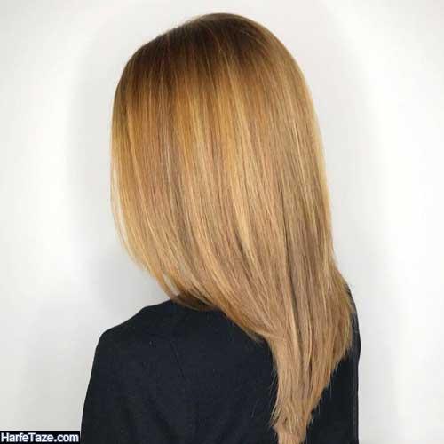 فرمول رنگ مو عسلی متوسط